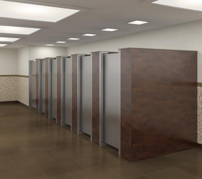 卫生间隔板13